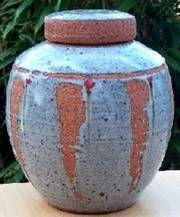 Lidded Jar   Simon Leach. 2005