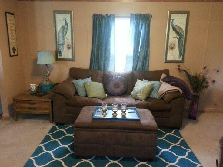 peacock themed living room home decoration ideas pinterest. Black Bedroom Furniture Sets. Home Design Ideas