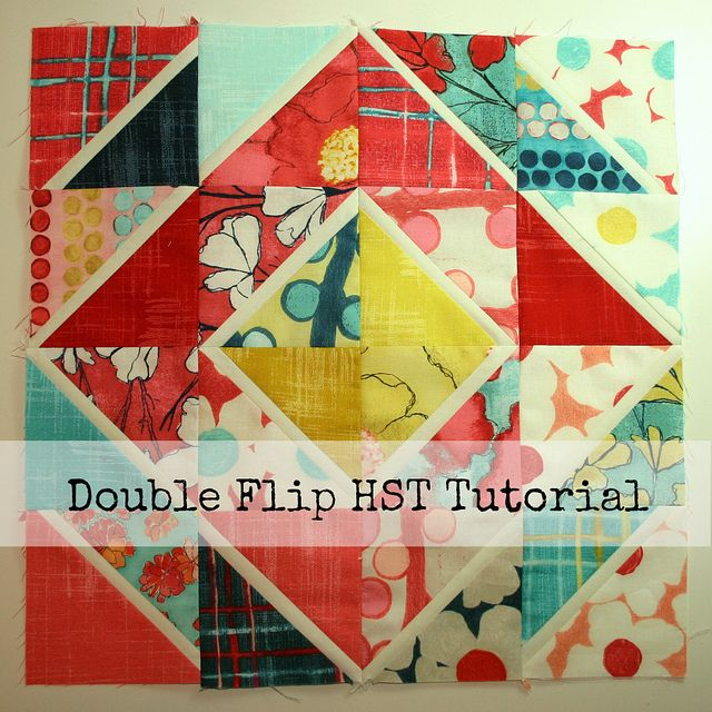 Cute, or what????  Double Flip HST Tutorial by Don't Call Me Betsy, via FlickrHst Tutorials, Hst Quilt, Half Squares Triangles, Flip Hsts, Flip Half, Quilt Blocks, Hsts Tutorials, Double Flip, Quilt Tutorials