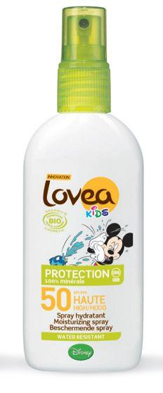 Lovea Organic Kids Sun Lotion SPF50