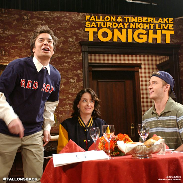 Tonight's the night! Jimmy Fallon hosts with musical guest Justin Timberlake!!