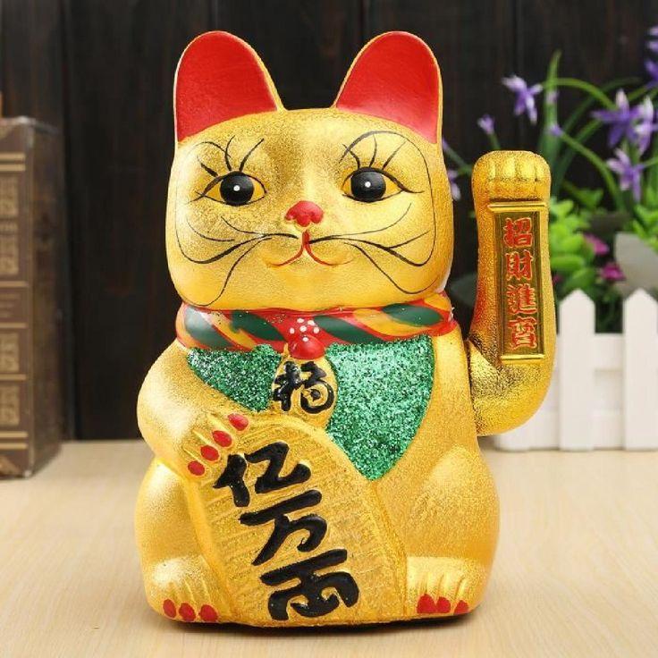 """Prospérité : """"chat chinois porte bonheur"""""""