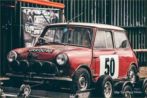 First car used by Hopkirk and Crellin as a crew