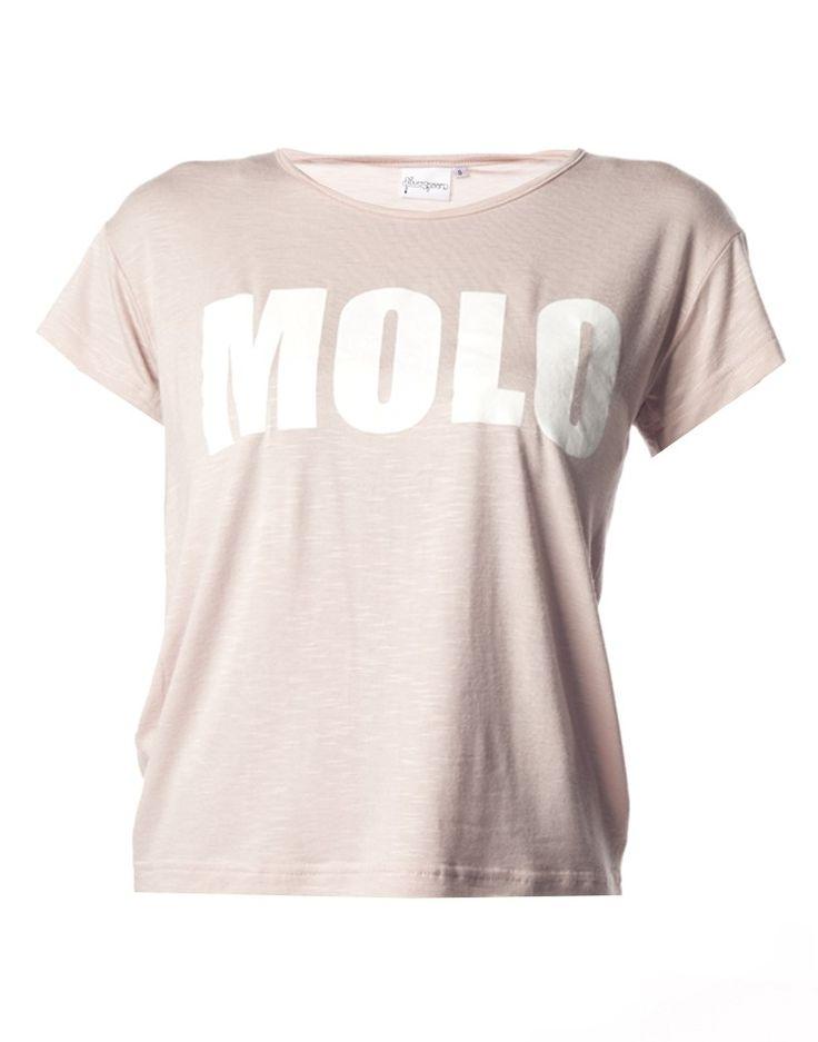 Slogan T-Shirt in Rose