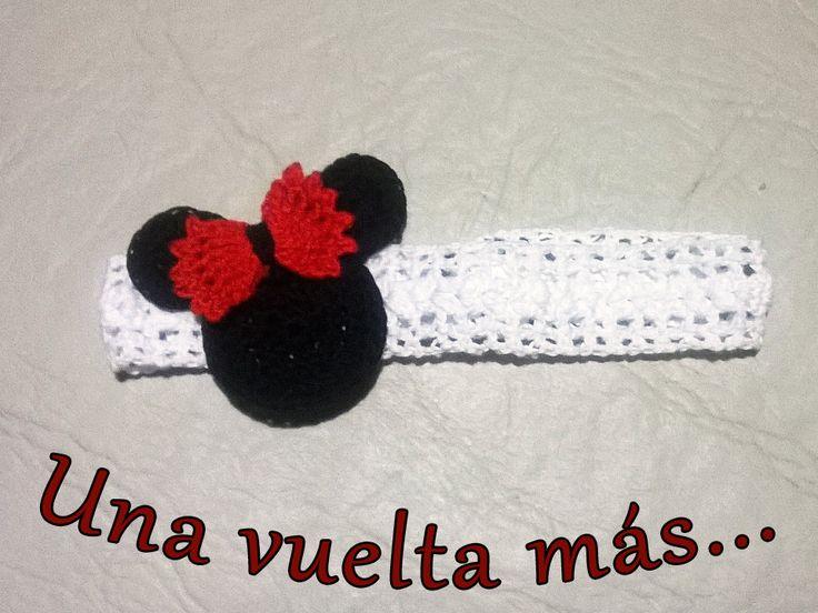 Vincha Minnie Mouse para niña
