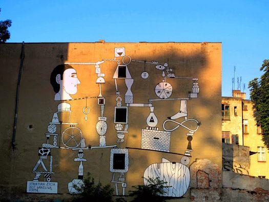Street art in Wroclaw, Poland © Marta Wojciechowska