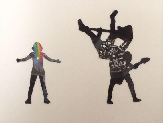 Paramore Pressure Flip Silhouette Trio Made by LianaBananaRecords