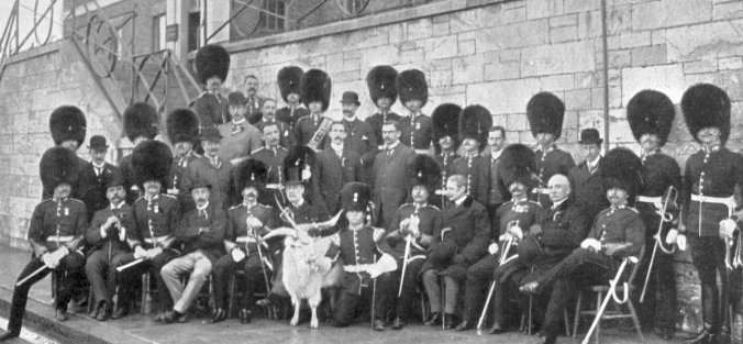 St David's Day 1913 with Sir Luke O'Connor.