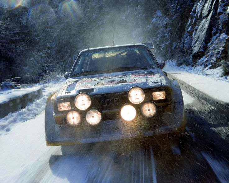Here's the one that changed things forever!!!!  Audi Quattro