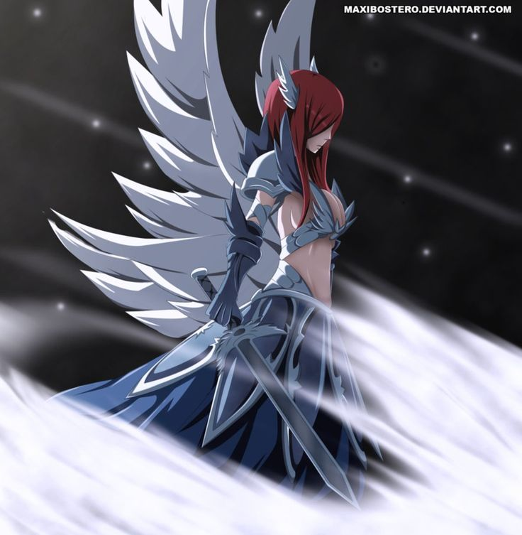 Erza's Heavenly Armor - Fairy Tail 454 by Maxibostero