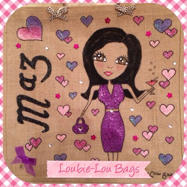 Latest personalised bag for a lovely lady