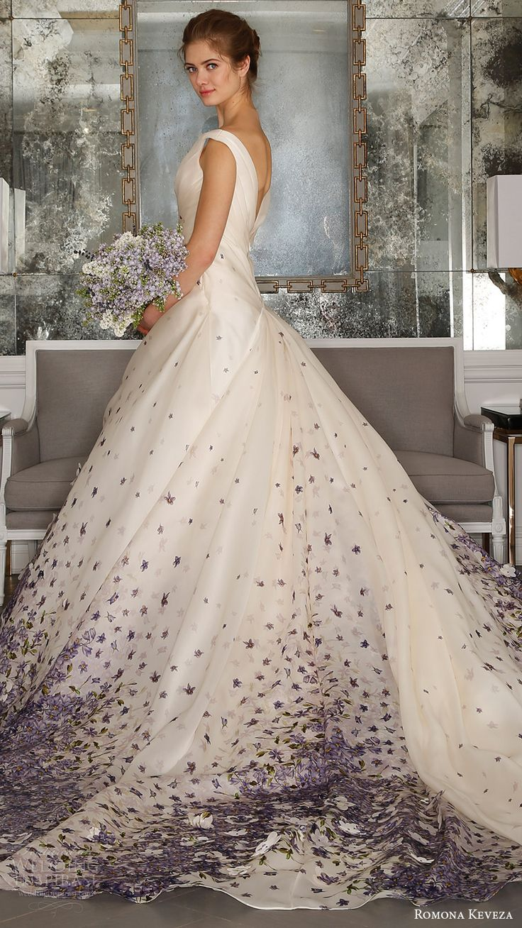 1000 Ideas About Color Wedding Dresses On Pinterest