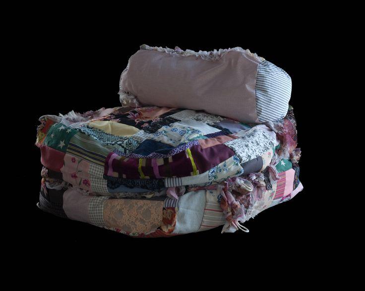 beanbag BooBoo / patchwork by Christianna