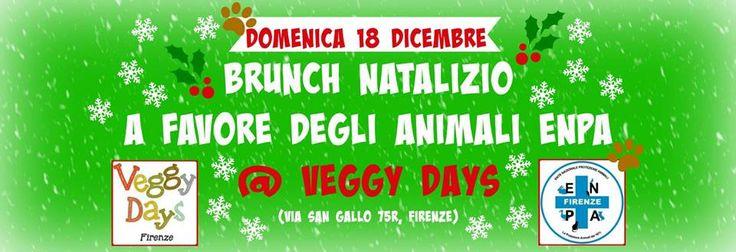Con Enpa Firenze brunch natalizio da Veggy Days :http://www.qualazampa.news/event/con-enpa-firenze-brunch-natalizio-da-veggy-days/