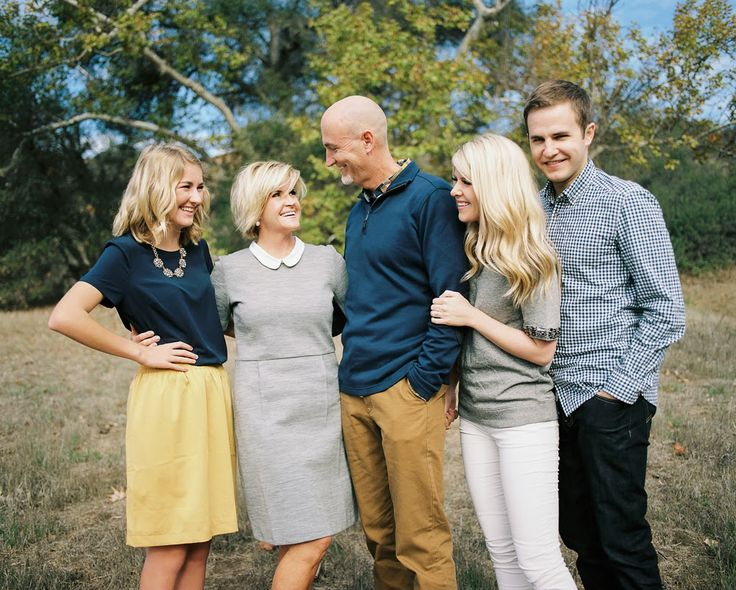 Grown Up Family Portrait Ideas