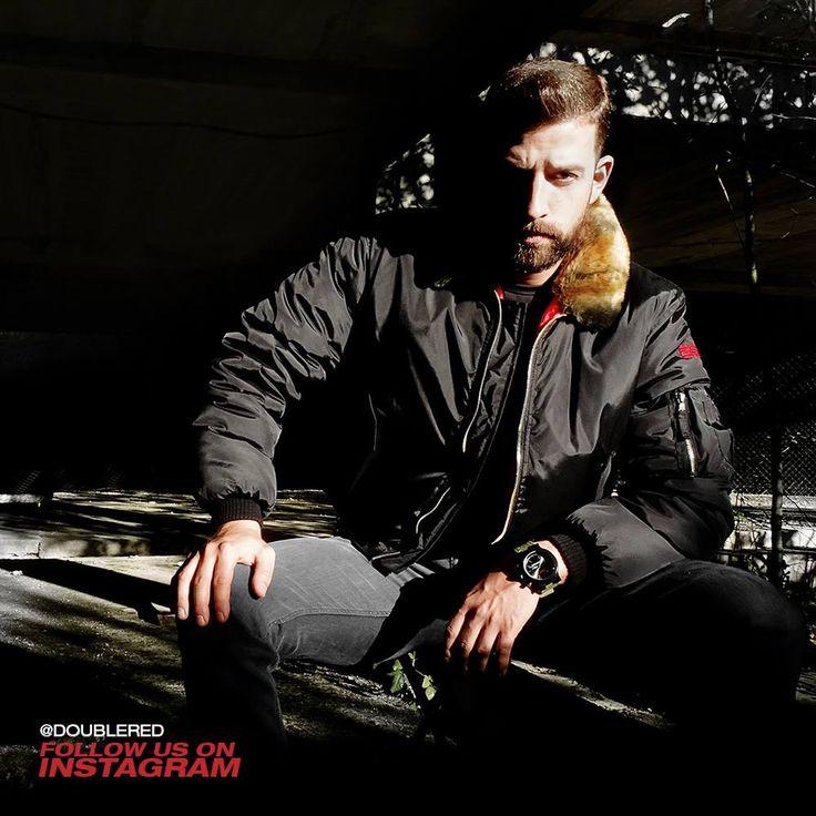 #black #bomber #doublered #army #armystyle #winterstyle #armyfashion #military #militarystyle #streetwear #streetstyle #streetfashion #reddressing #drdresscode #drrules #fashionkiller #menswear #mensfashion