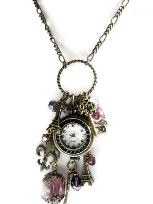 Bohemian gypsy necklace Gypsy jewelry by TreasuresofJewels on Etsy