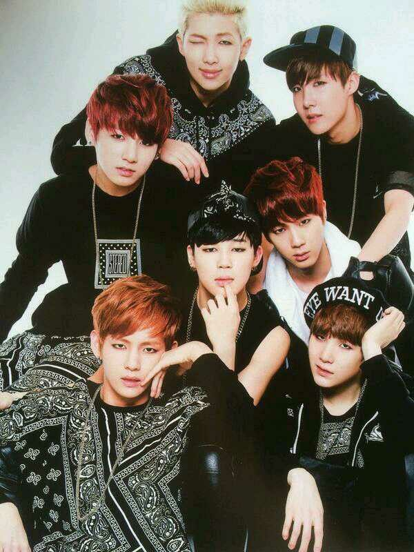 BTS - Bangtan Boys
