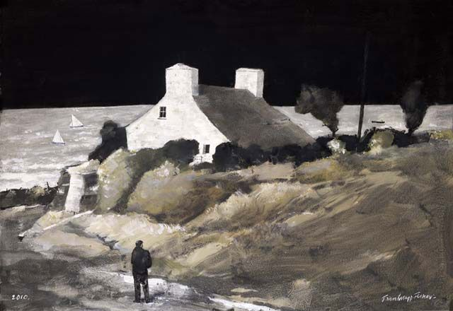 """""""Cottage No More"""" by John Knapp-Fisher RCA, 2015"""