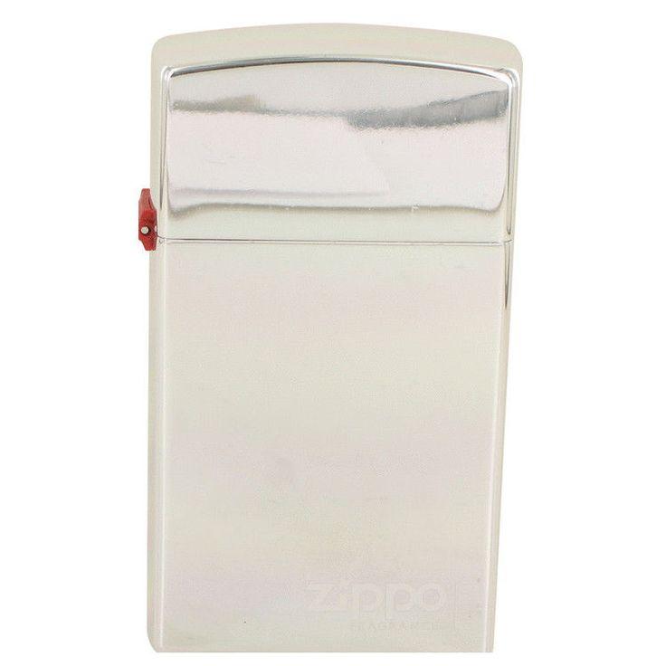 Zippo Original by Zippo 3.4 oz / 100 ml EDT Spray Refillable TESTER for Men NIB #Zippo