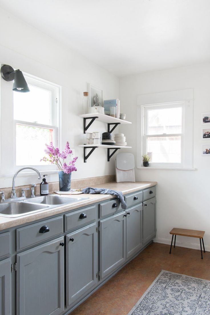 25 best sherwin williams careers ideas on pinterest reading love this black white gray kitchen exploring nostalgia in an airy la craftsman bungalow