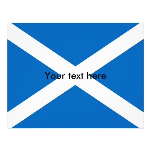 Scotland flag letterhead