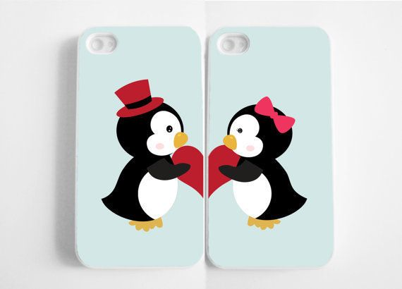 #aww #penguine #couple