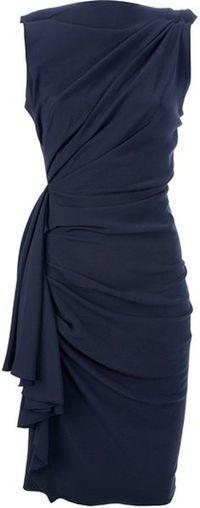 Lanvin draped dress