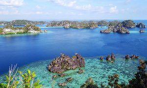 Misool Island in West Papua
