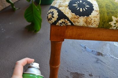 How to Thoroughly Clean and Disinfect Used Furniture. This is helpful for when you buy furniture at thrift stores or yard sales and don't know where it's been.