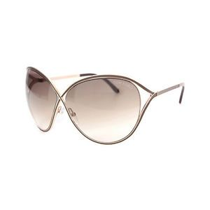 Tom Ford Sienna Oversized Sunglasses Brown FT0178 48F | eBay