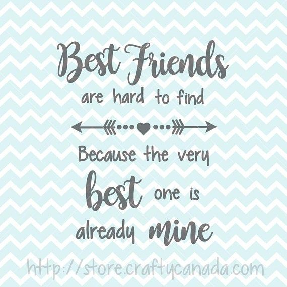 Best Friends Svg Png Best Friends Quote Best Friends Clipart