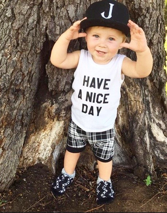 Have a nice day Toddler Tank,Toddler Boy, Unisex Shirt, Toddler Tank, Baby Shirt, Baby Boy Clothes, Baby Fashion, Toddler Swag, White Tank by ToddlerTribe on Etsy https://www.etsy.com/listing/291107857/have-a-nice-day-toddler-tanktoddler-boy