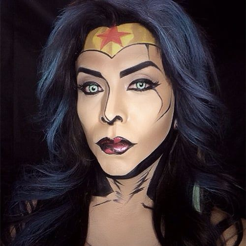 The 25+ best Comic book makeup ideas on Pinterest | Comic makeup ...