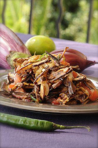 Салат из баклажанов. Ориентальный