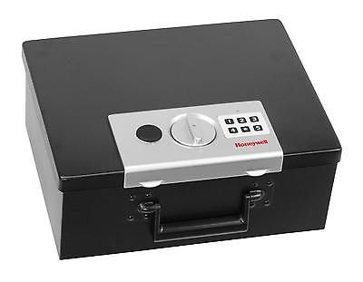 Digital Steel Security Box Fireproof Cash Safe Home 0.26 Cubic Feet Portable New