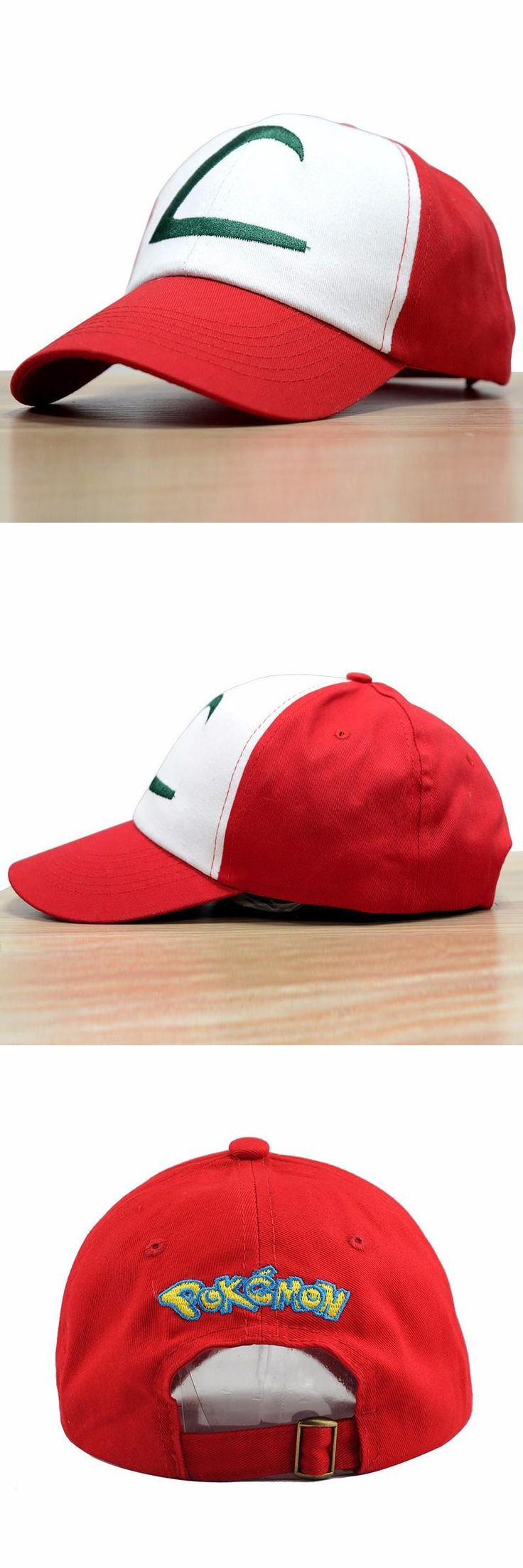 [Visit to Buy] 2017 Time-limited Sale Letter Adult Gorras Anime Cospaly Casquette Pokemon Hat Ash Ketchum Visor Caps Costume Play Baseball Cap #Advertisement