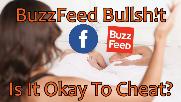BuzzFeed thinks cheating is okay... #humor #funny #lol #comedy #chiste #fun #chistes #meme