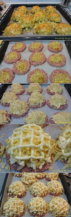 Стожки из фарша - Кулинарные рецептыКулинарные рецепты