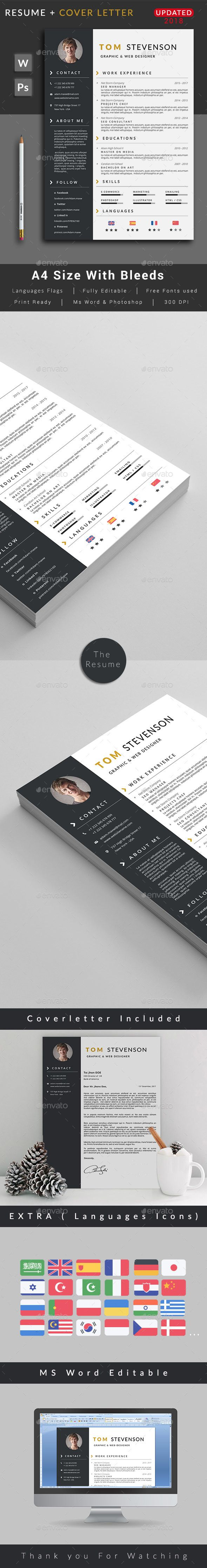 Resume Resumes Stationery 261 best CV