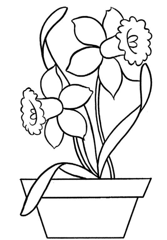 fruehlingsblumenausmalbilderdekokingcom9