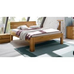 Solid wooden bed Designer wooden bed Docks Karupkarup  – Products