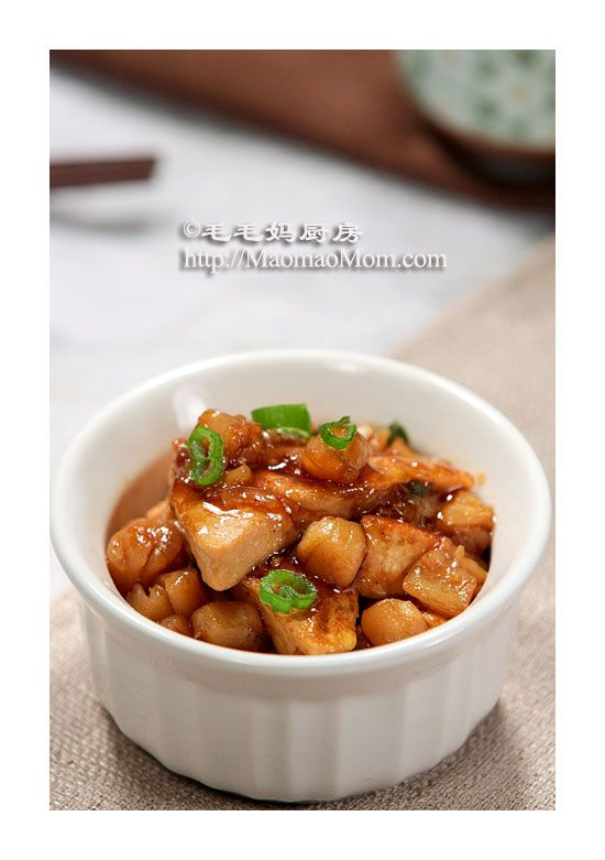 Braised Tofu with Dried Scallop | Recipes | Pinterest ...