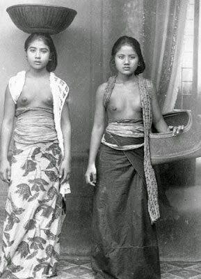 Gadis Bali Tahun 1910 Hingga 1930-an