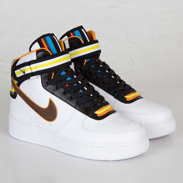 Riccardo Tisci x Nike Air Force 1 'RT' ❤ liked on Polyvore featuring nike, shoes and sneakers