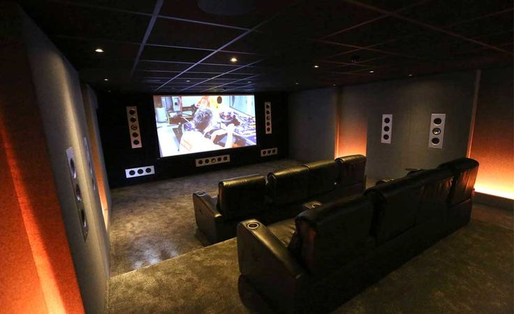 A bespoke home cinema room by Just Add Popcorn
