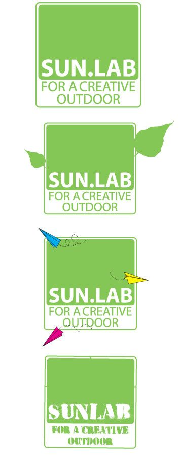 Sunlab for a creative outdoor, corporate identity #design #graphic #logo