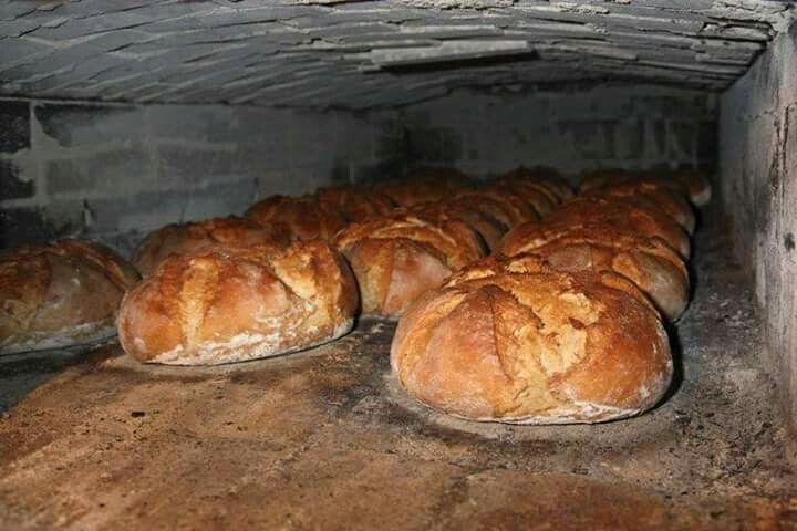 Pâine pe vatra