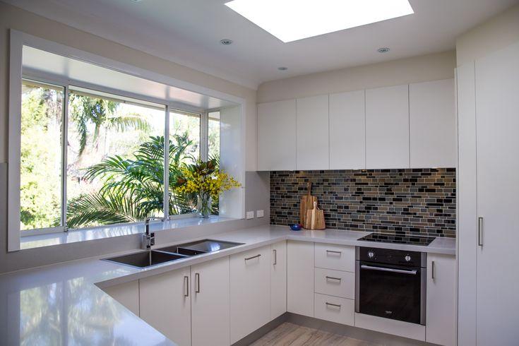 Granite Transformations New Kitchens #kitchen #splashback