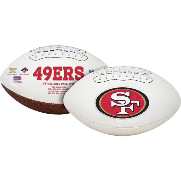 Rawlings San Francisco Signature Series Full-Size Football, Team
